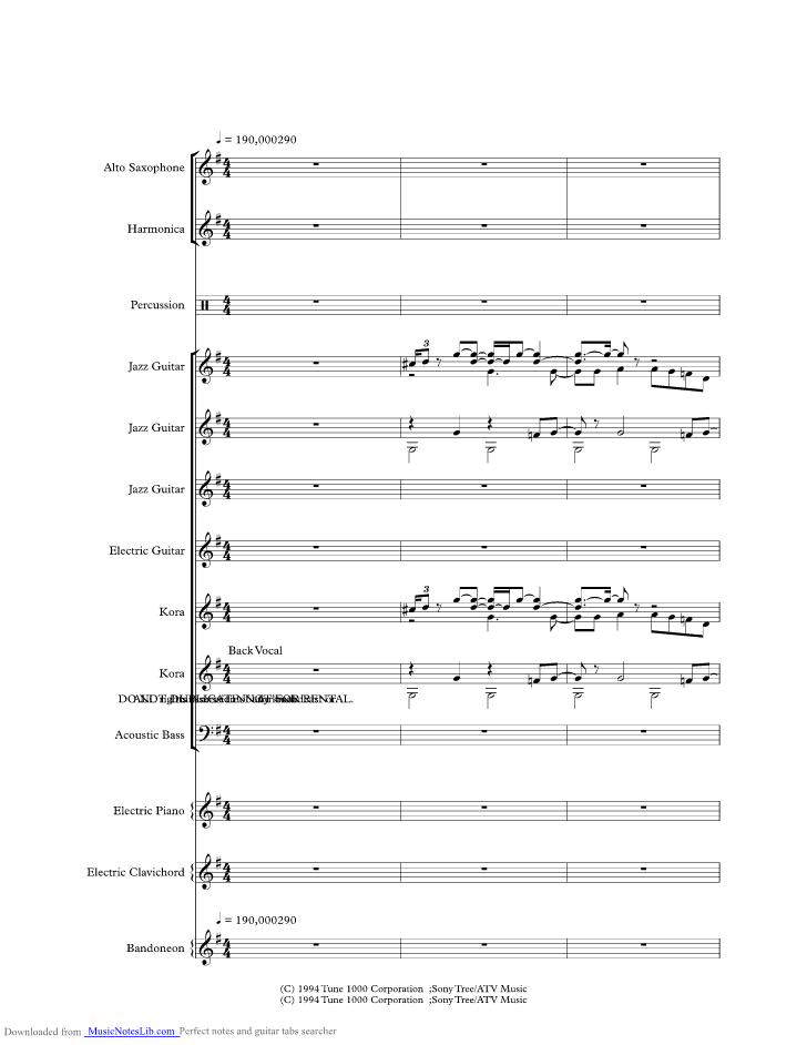 Ramblin Fever Music Sheet And Notes By Merle Haggard Musicnoteslib