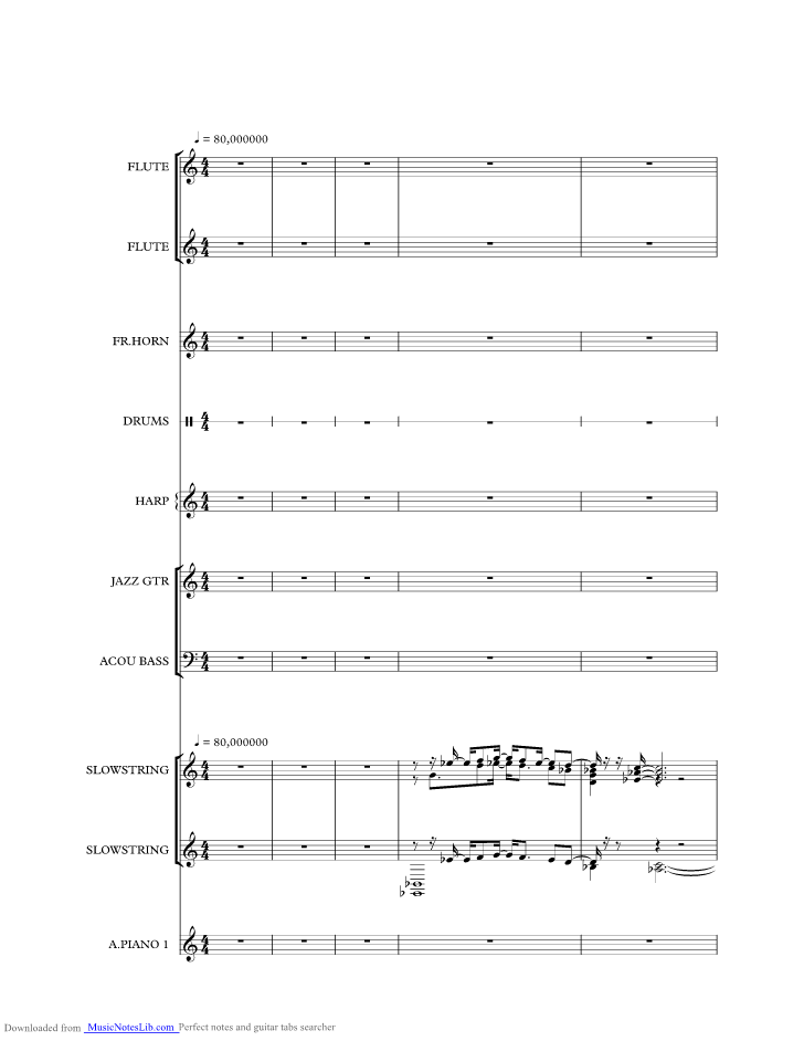 Smile Music Sheet And Notes By Nat King Cole Musicnoteslib