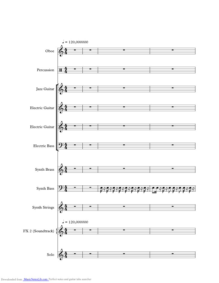 Major Tom music sheet and notes by Peter Schilling @ musicnoteslib.com