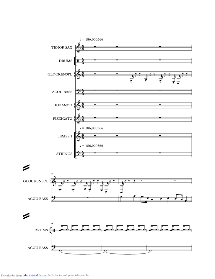 Sleigh Ride Music Sheet And Notes By Ronettes Musicnoteslib