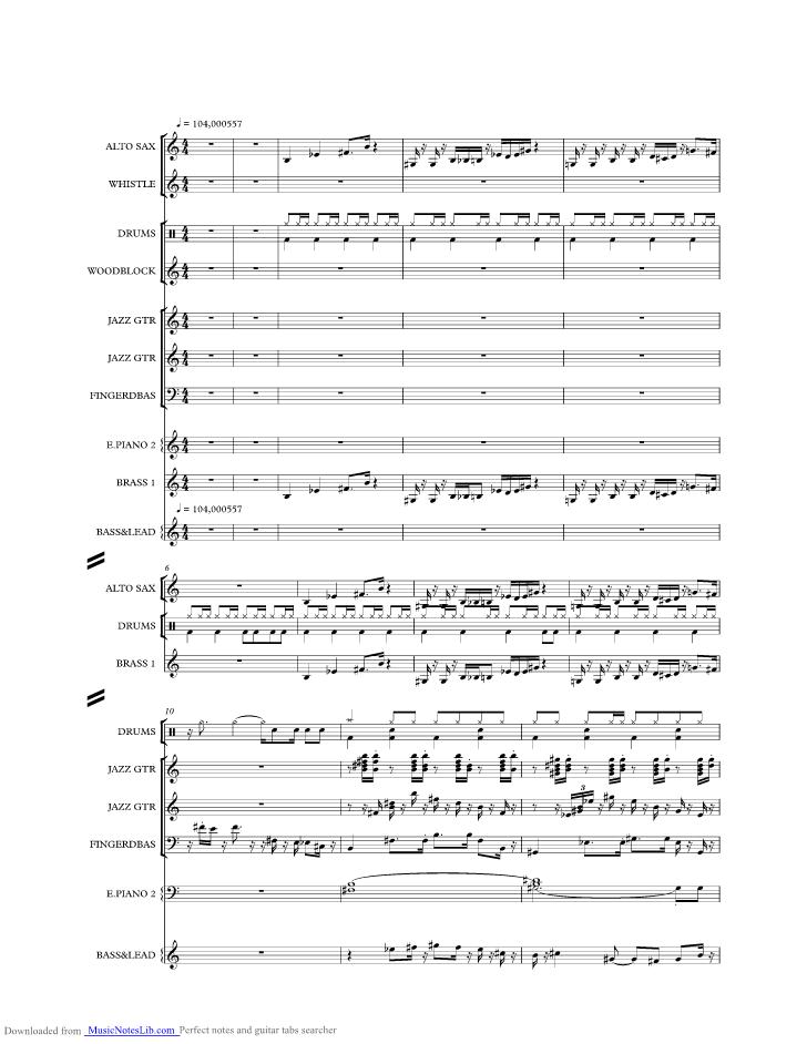 Sir Duke Music Sheet And Notes By Stevie Wonder Musicnoteslib