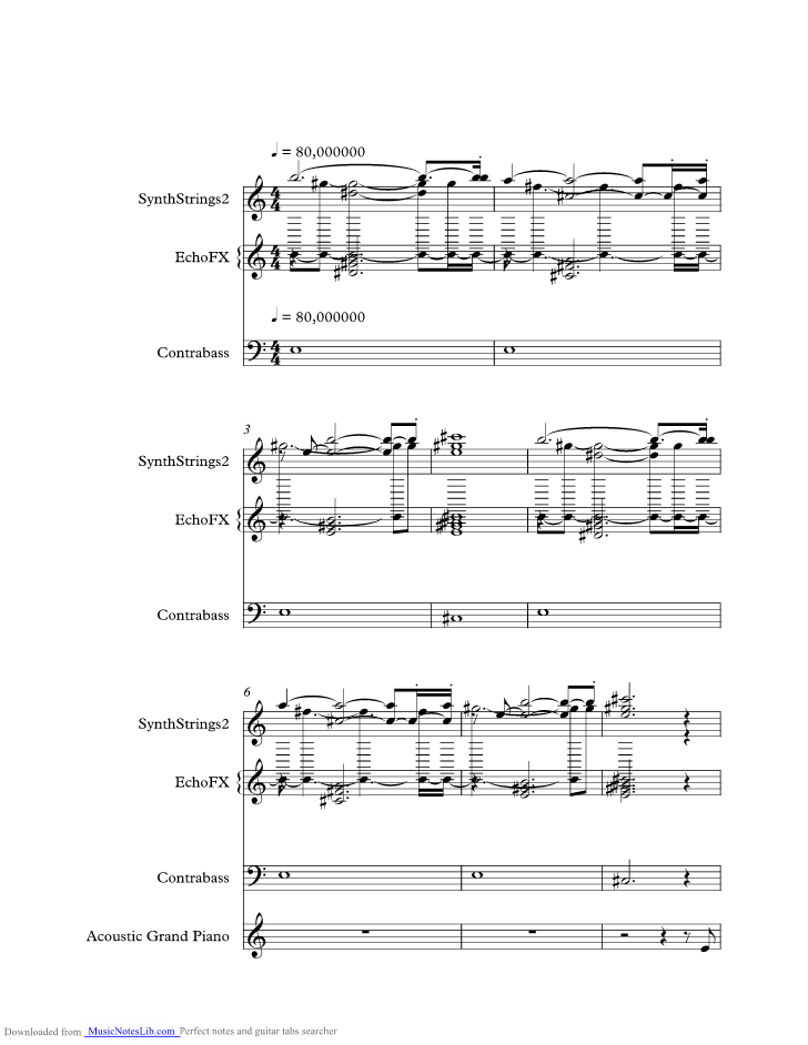 Firefly Music Sheet And Notes By Uriah Heep Musicnoteslib Com