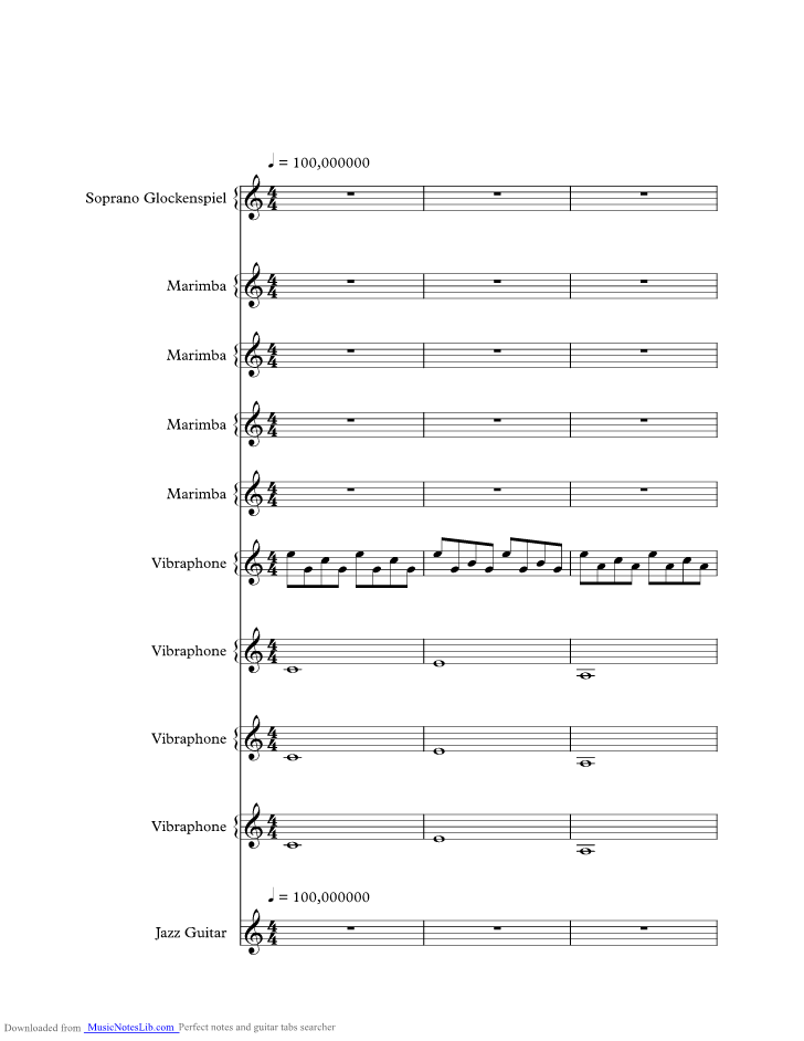 Stop The Dams Music Sheet And Notes By Gorillaz Musicnoteslib