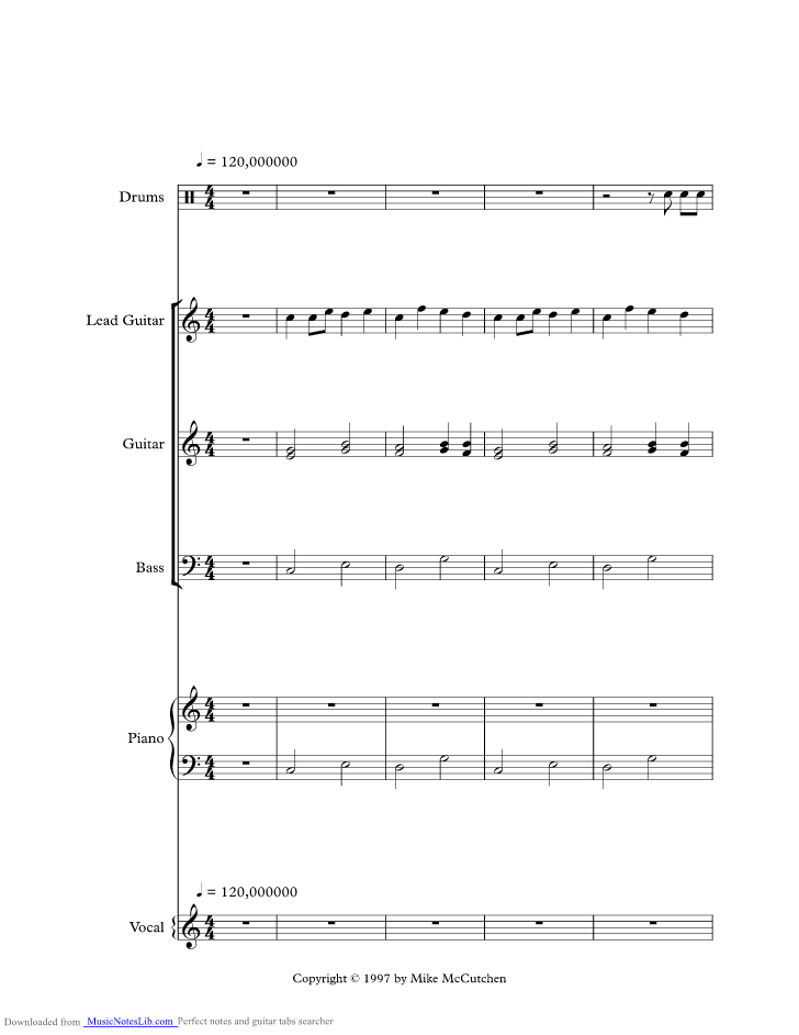 Alabama Rain Music Sheet And Notes By Jim Croce Musicnoteslib