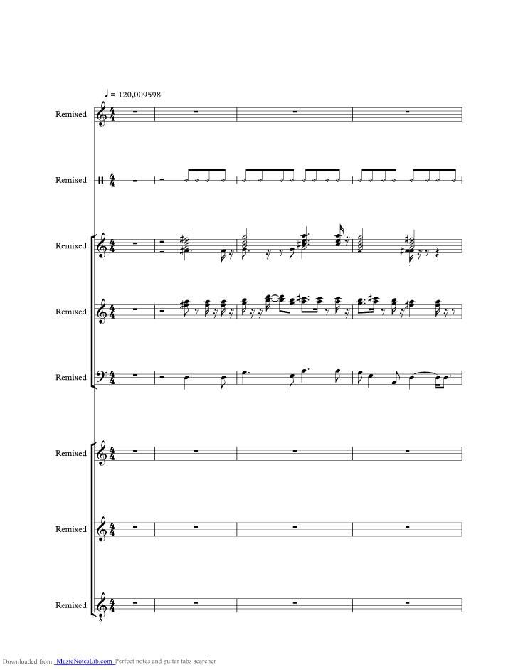 Guantanamera Music Sheet And Notes By Joe Dassin Musicnoteslib