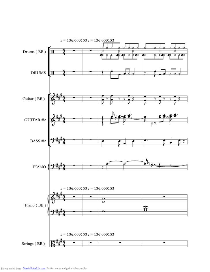 FELIZ NAVIDAD 2 music sheet and notes by Jose Feliciano ...