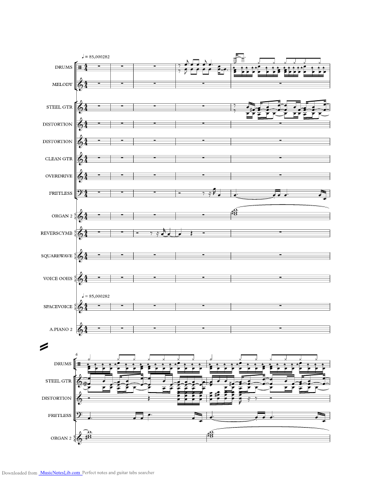 Wild Woman Music Sheet And Notes By Michael Learns To Rock