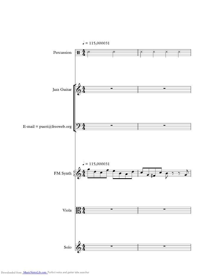 Il Coccodrillo Come Fa music sheet and notes by Parole Di