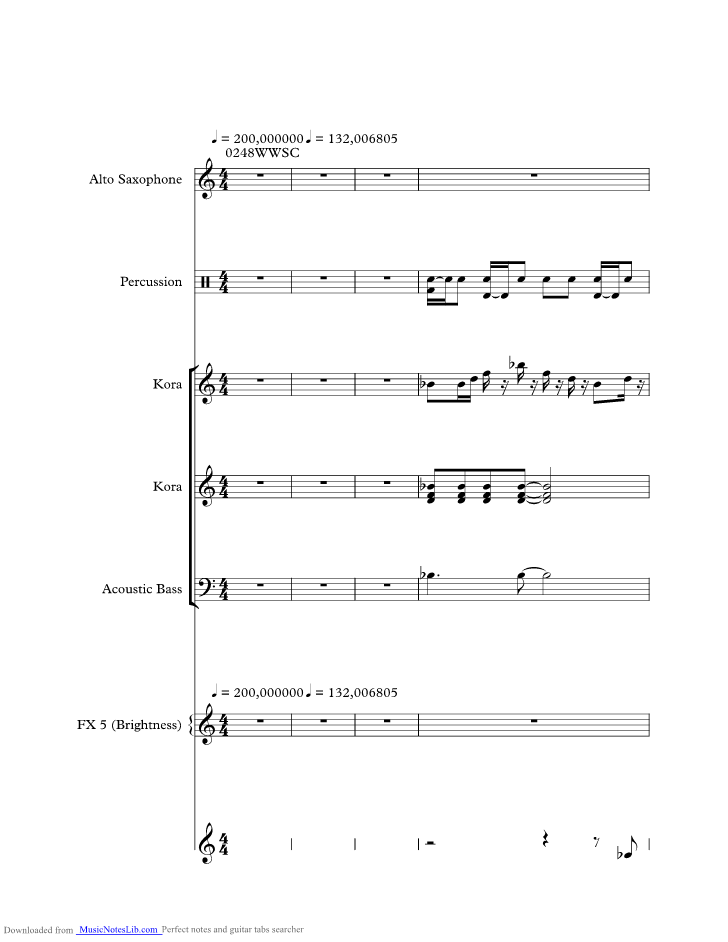 Wonderful World Music Sheet And Notes By Sam Cooke Musicnoteslib