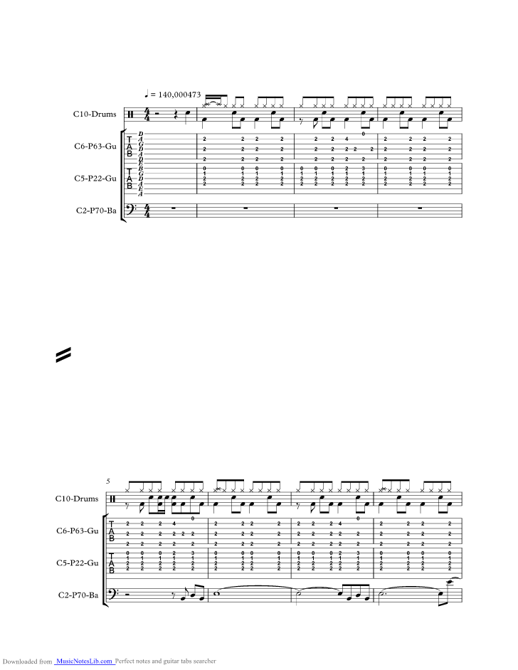 Born To Be Wild Music Sheet And Notes By Steppenwolf Musicnoteslib