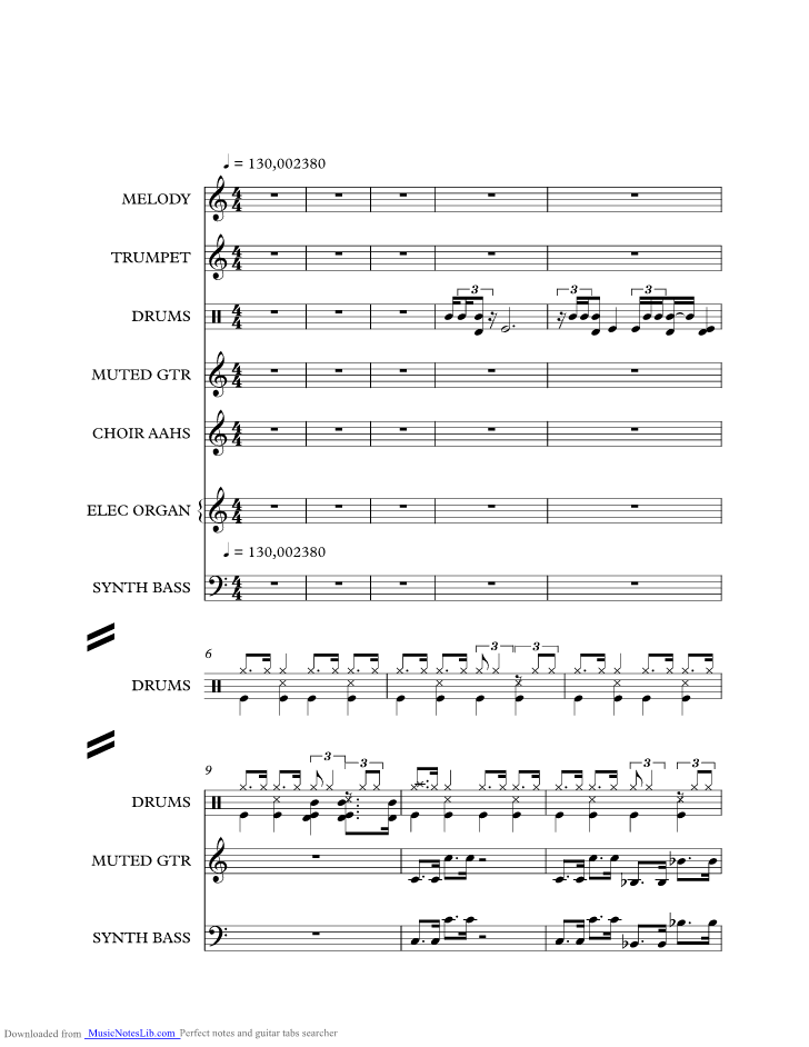 Master Blaster Music Sheet And Notes By Stevie Wonder