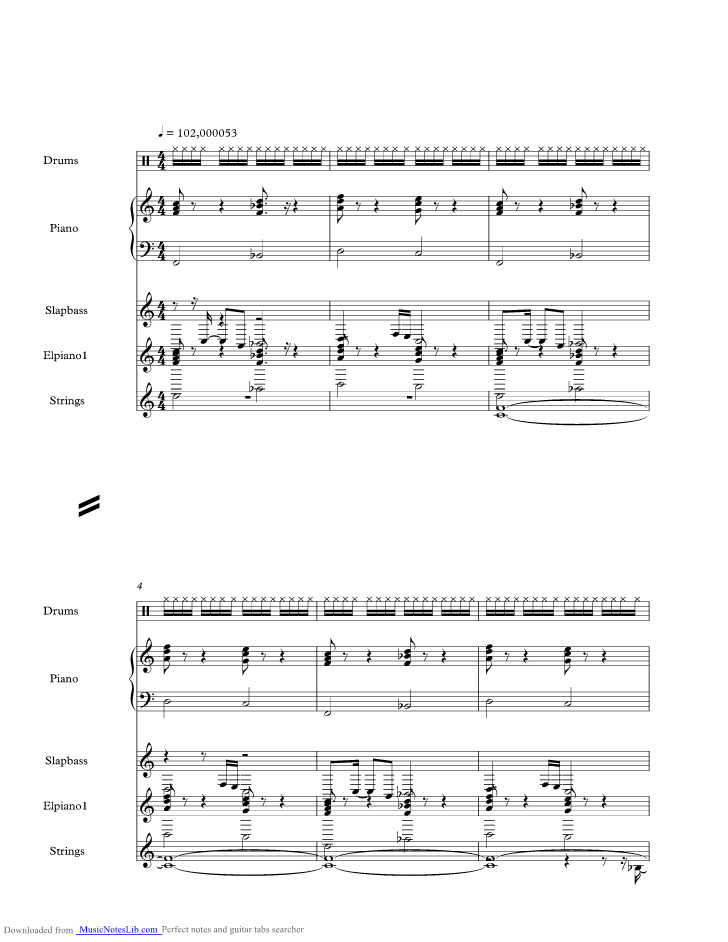 Stop Loving You Music Sheet And Notes By Toto Musicnoteslib