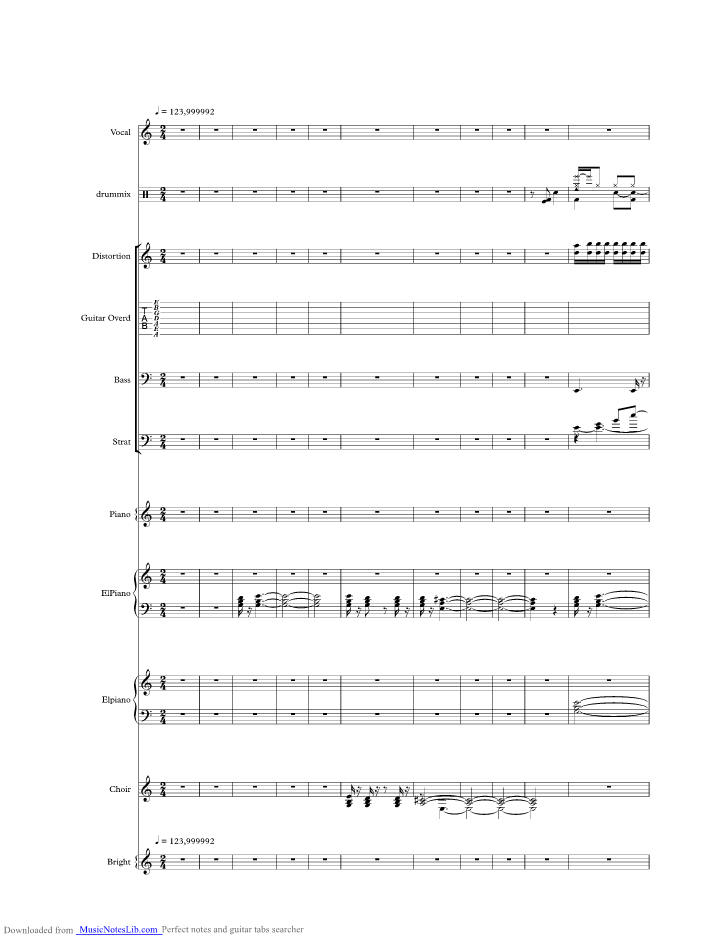 Goin Home Music Sheet And Notes By Toto Musicnoteslib