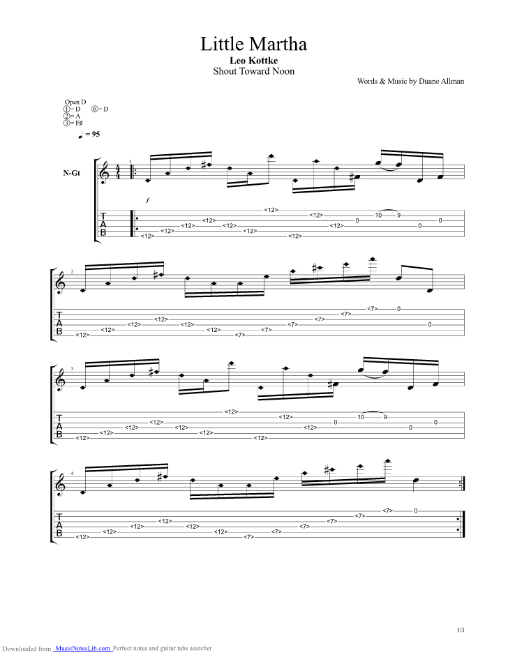 Any Fule Know That guitar pro tab by Deep Purple @ musicnoteslib.com
