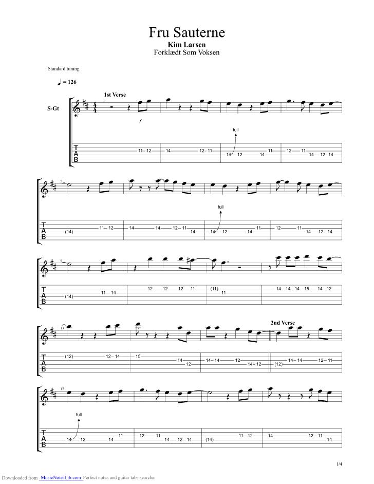 papirsklip chords