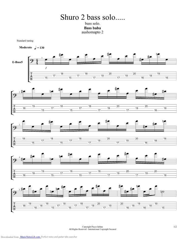 Shurjo 2 Guitar Pro Tab By Aurthohin Musicnoteslib