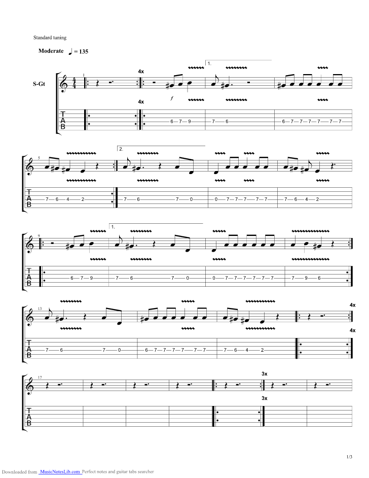 We Are So Fragile Guitar Pro Tab By Gary Numan Musicnoteslib