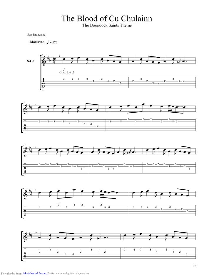 sponsored links - Halloween Theme Song Guitar