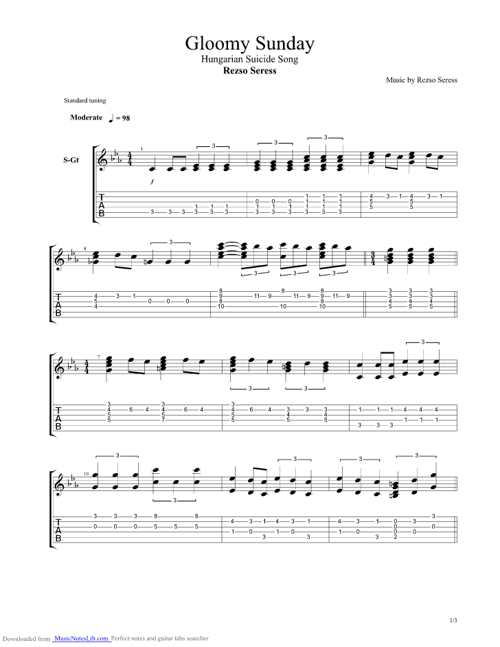 How To Play Blues Guitar  Chords Guitar Tablature 12Bar