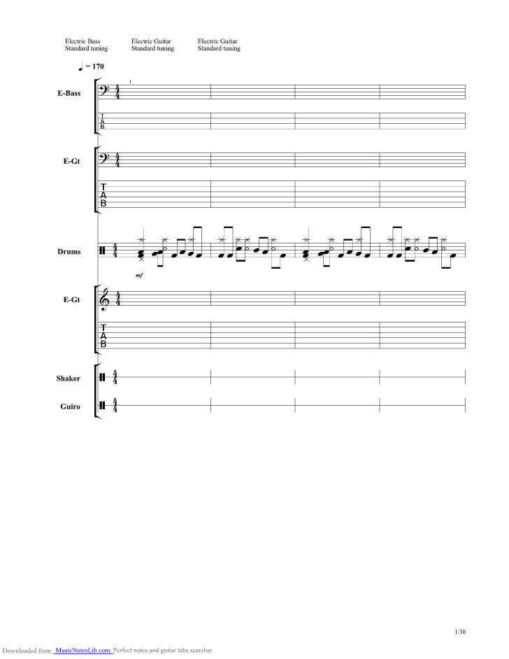 Runaway Baby Guitar Pro Tab By Bruno Mars Musicnoteslib
