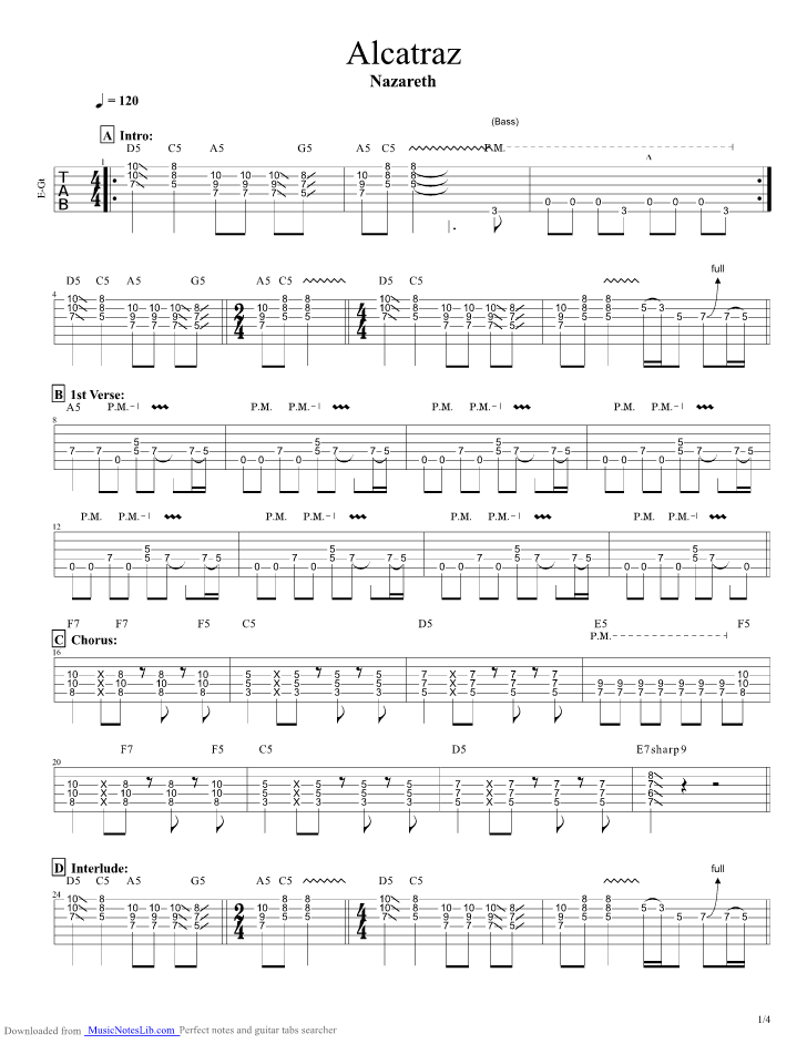Hair of the dog tab guitar pro