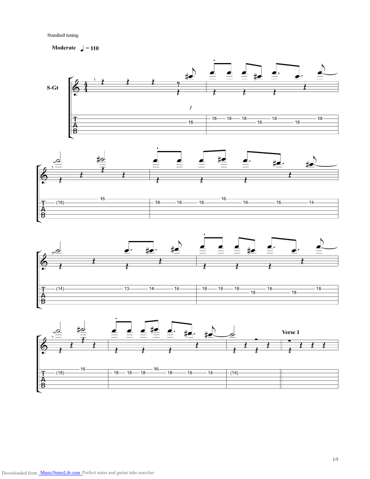 Little Talks guitar pro tab by Of Monsters And Men @ musicnoteslib.com