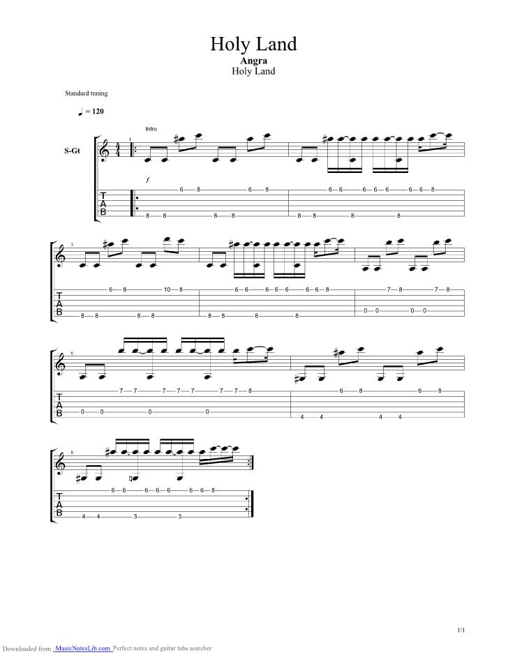 ANGRA chords | E-Chords.com