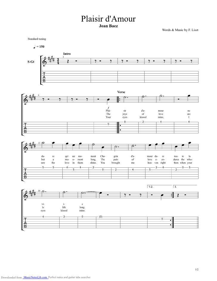 Sad song guitar chords