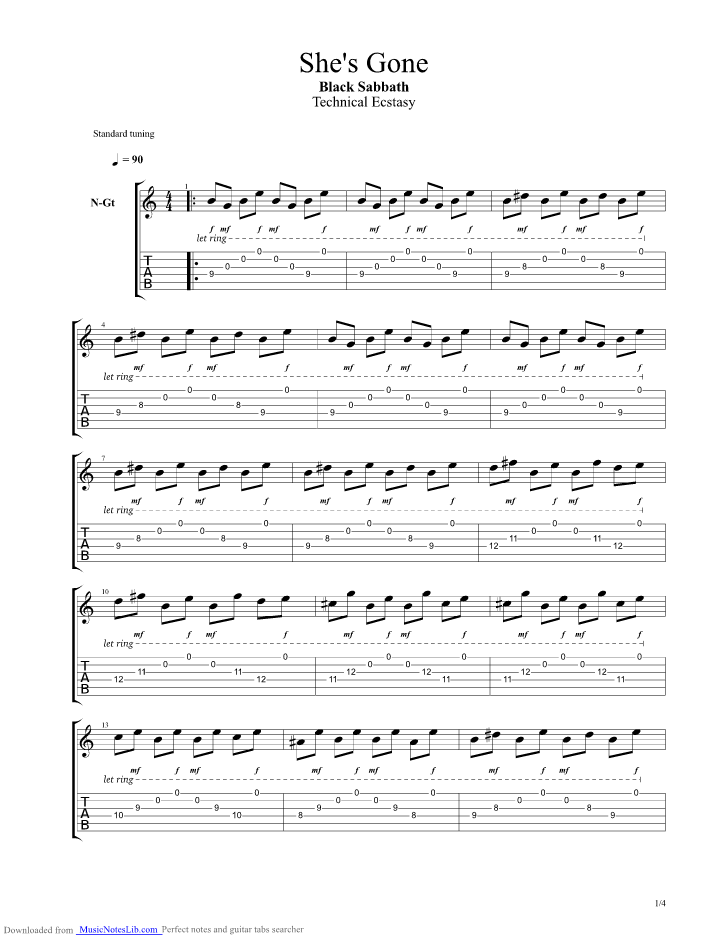 (Anime) Fairy Tail - Fingerstyle Guitar Tab - YouTube