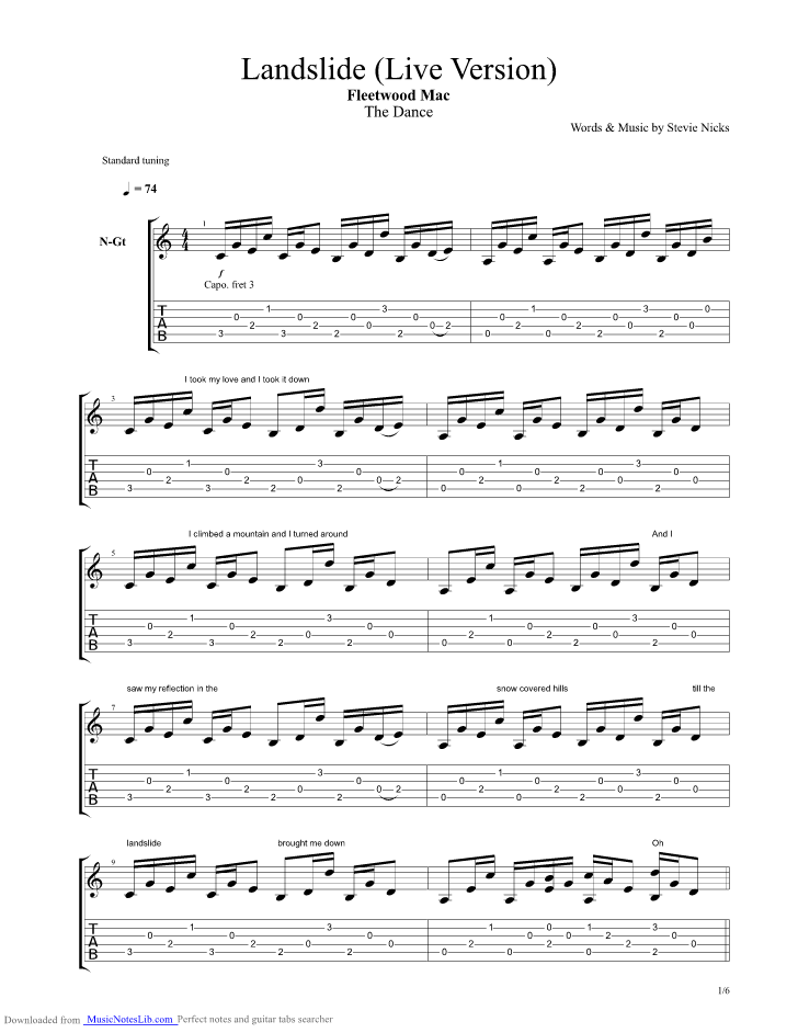 Fleetwood Mac Chords & Tabs : 708 Total @ Ultimate-Guitar.Com