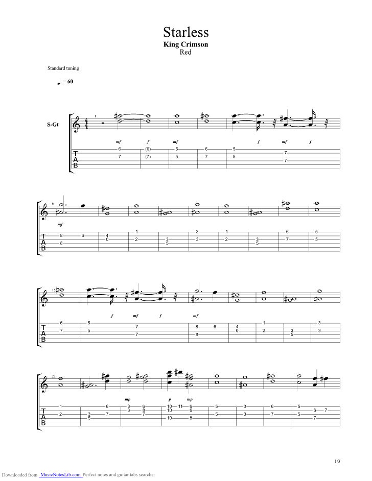 Chords To Cat Food