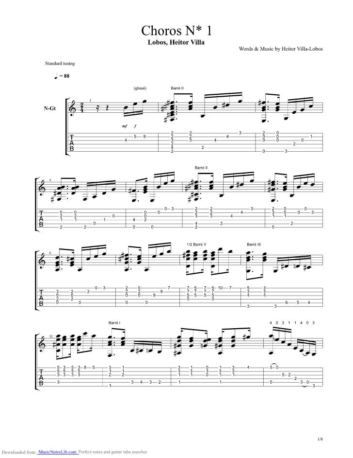 Heitor Villa-Lobos - Mickael Viegas - The Complete Guitar Works Of Heitor Villa-Lobos
