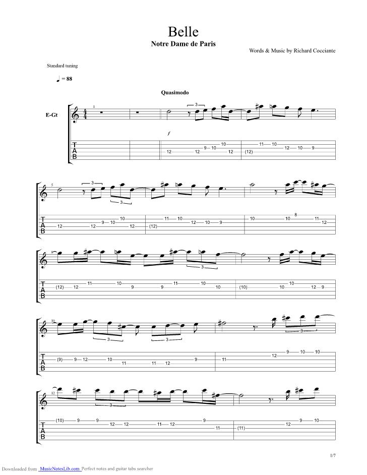 Ave maria song sheet music