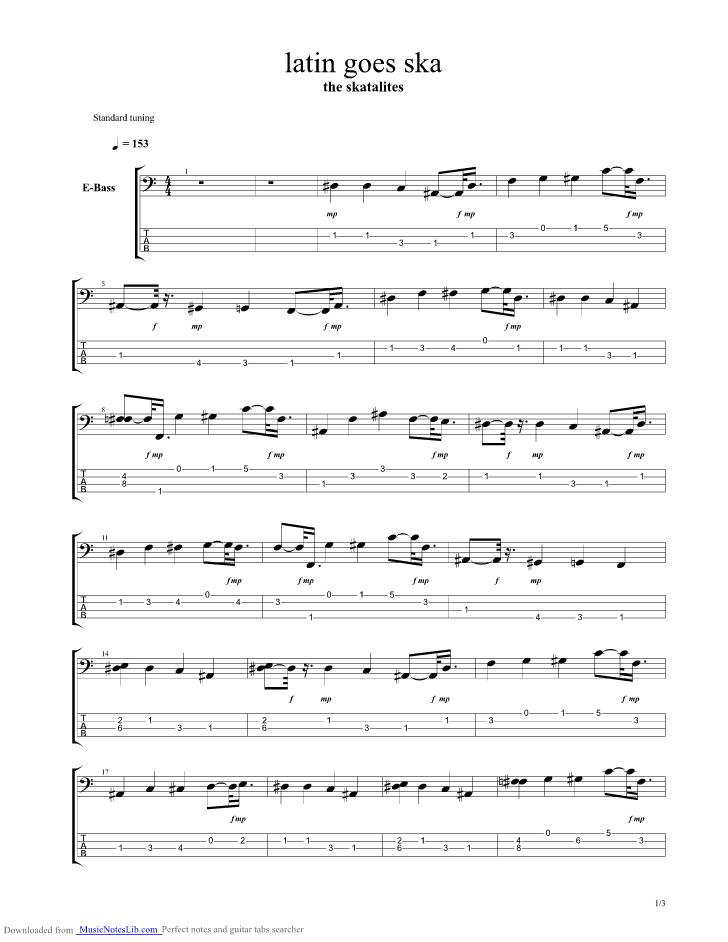 Latin Guitar Chords