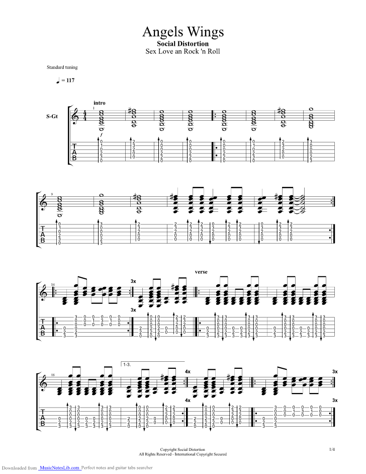 Ring Of Fire Social Distortion Chords