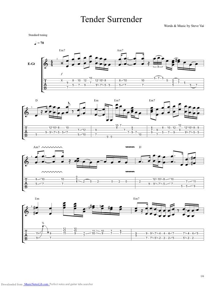 surrender chords