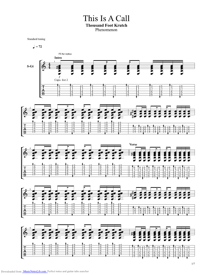 Guitar chords for hurt