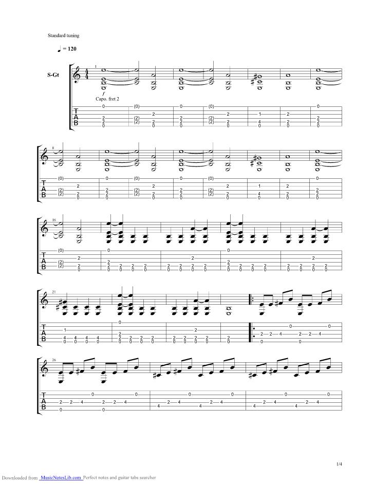 Eiserner Steg guitar pro tab by Philipp Poisel