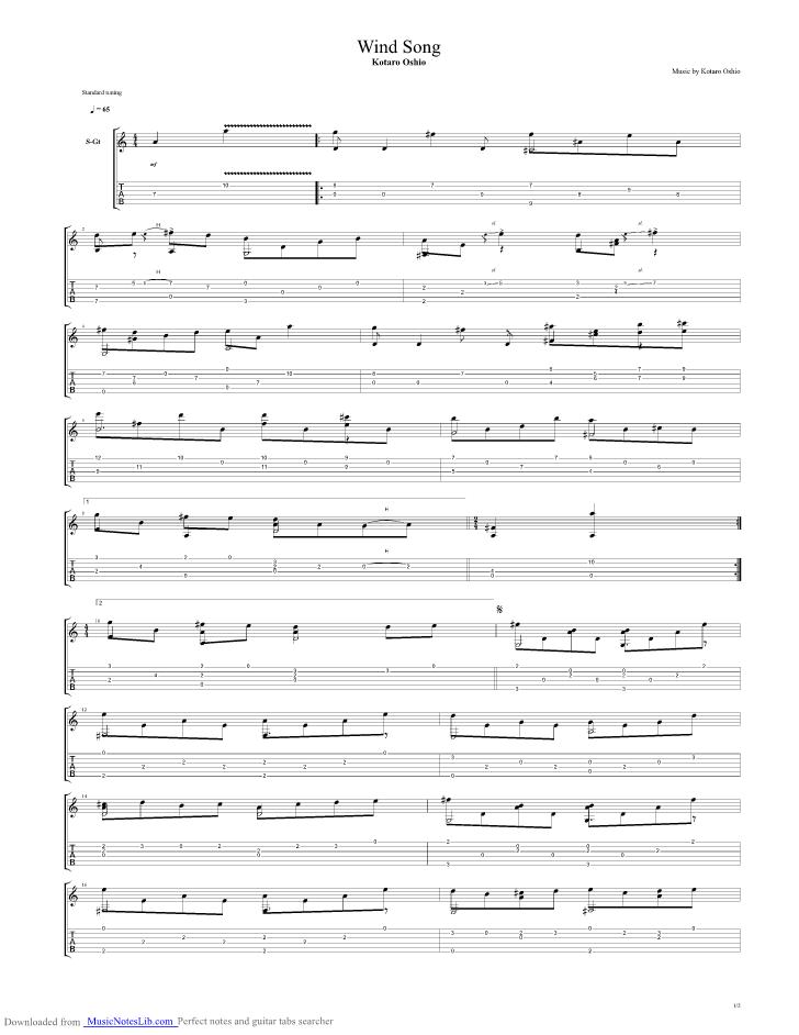 "Sia ""chandelier"" guitar tab in a minor download & print sku."