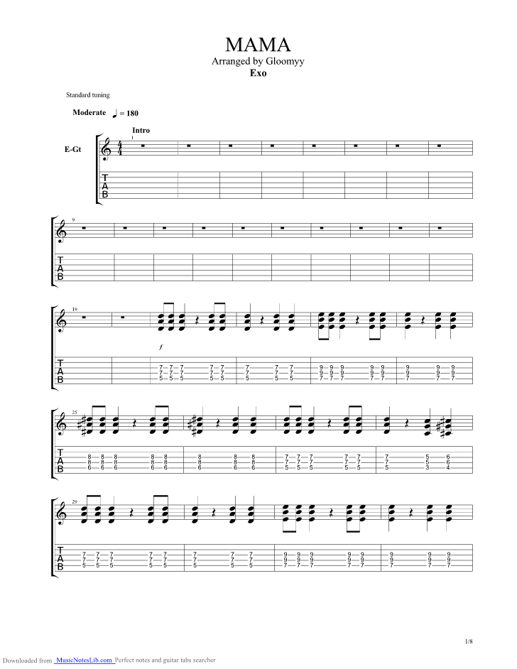 Silent Night Guitar Chords
