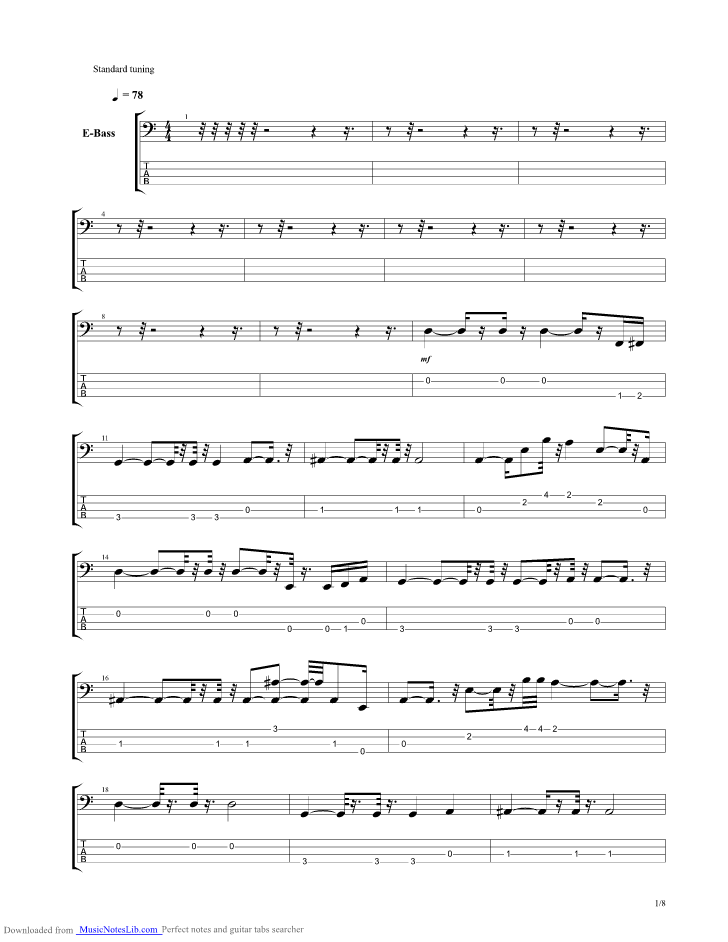 Careless Whisper guitar pro tab by George Michael @ musicnoteslib.com