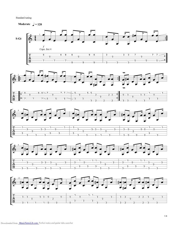 Below My Feet Acoustic guitar pro tab by Mumford And Sons ...