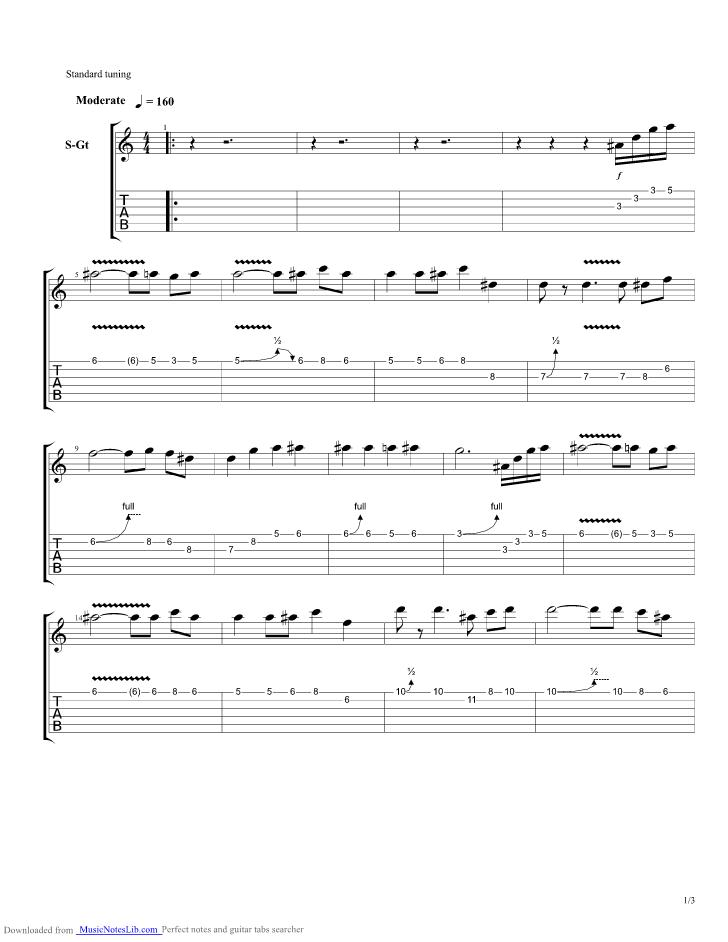Romancing Saga - Battle 2 guitar pro tab by Misc Computer