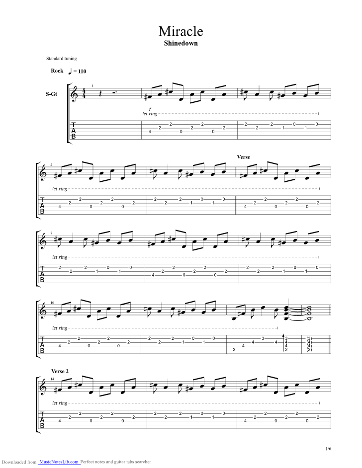 Shinedown Chords amp Tabs  Page 4  Ultimate Guitar Archive