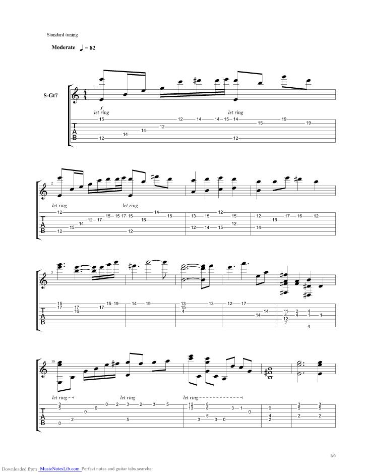 Volver Amar Guitar Pro Tab By Cristian Castro Musicnoteslib