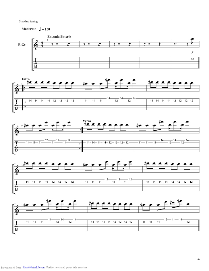 Tomalo Guitar Pro Tab By Hillsong United Musicnoteslib
