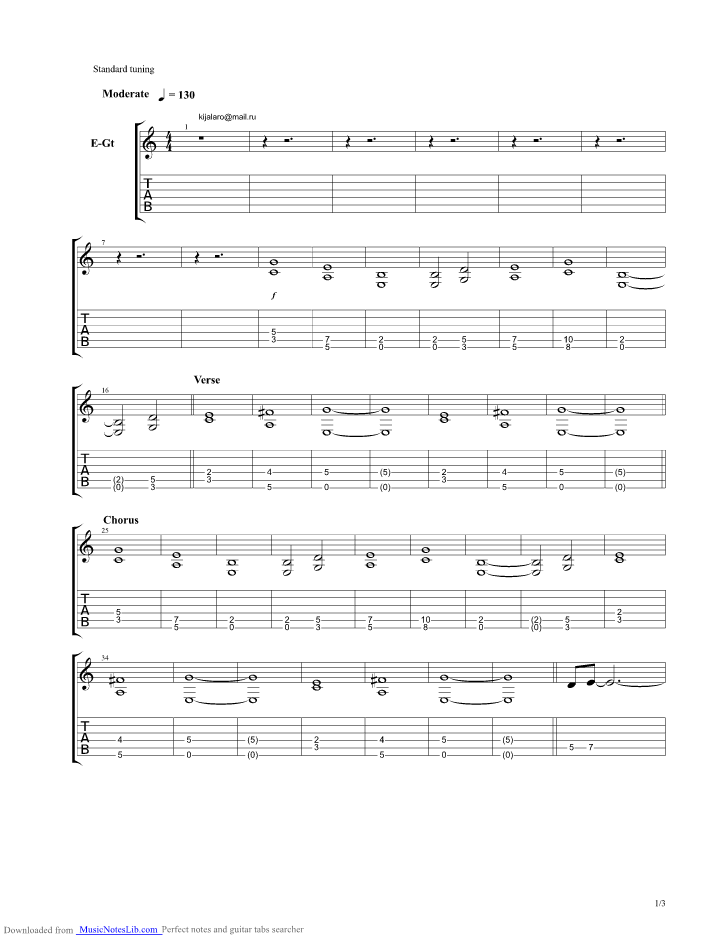 Can You Feel My Heart guitar pro tab by Bring Me The Horizon ...
