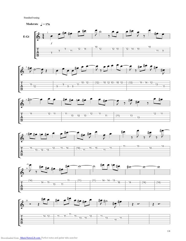 better days guitar tab pdf