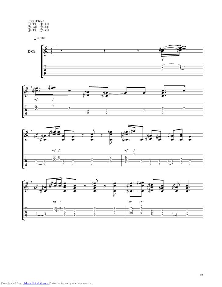 Jealous Again Guitar Pro Tab By Black Crowes Musicnoteslib
