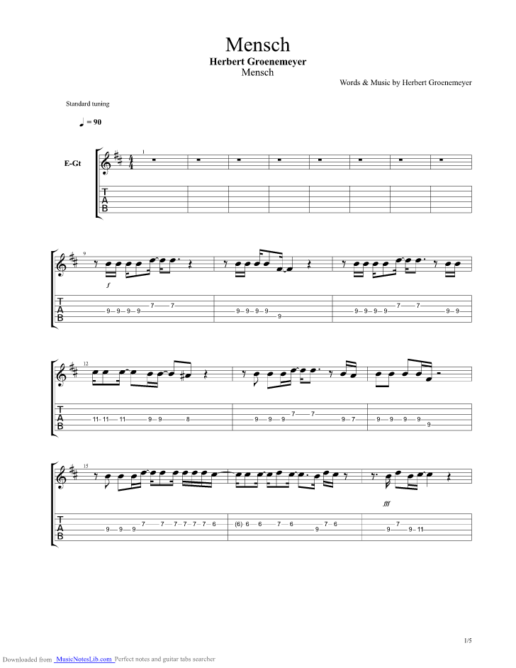 Guitar song chords for